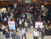 More than 1000 people attend Noble heating event.