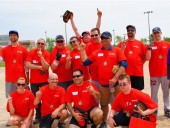 The Special Olympics baseball champion team, The Pirates