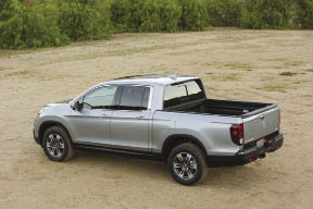 The 2017 Honda Ridgeline may work well for some as a service vehicle.