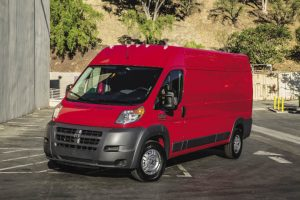 The Ram ProMaster is the only full-size front wheel drive van which reduces overall weight.