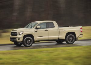 Toyota's full-size pickup is basically unchanged for 2016, having received a makeover two years ago.