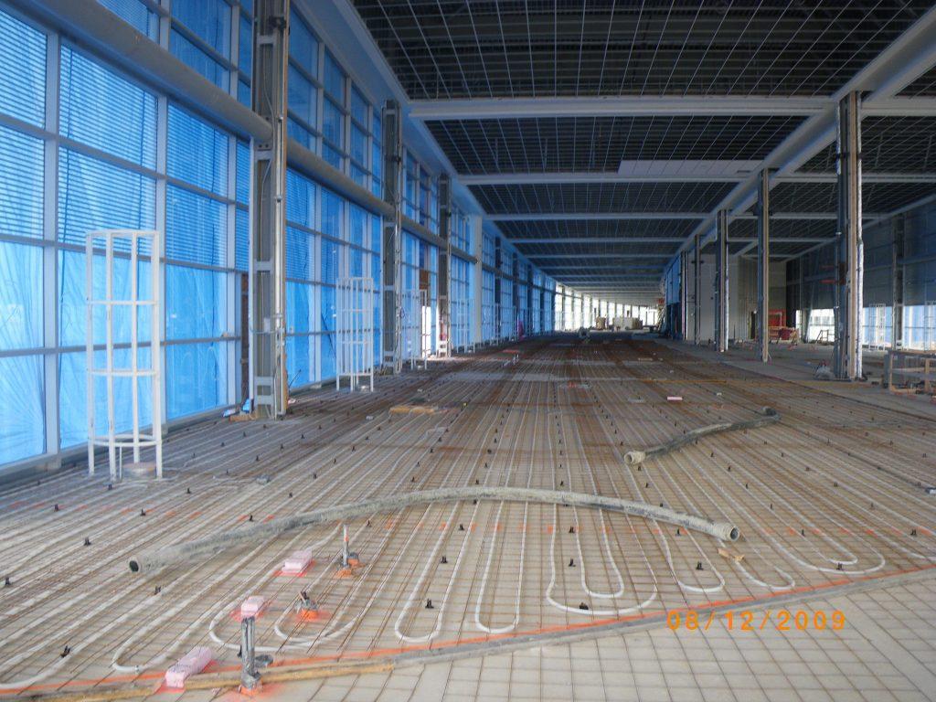Radiant Floors Hit The Mark At Winnipeg Airport