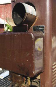 Coleman oil burning heater