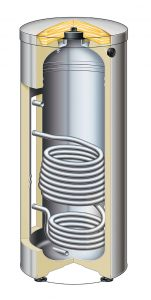 Stainless steel indirect water heater