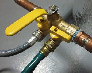 double port purging valve hydronics
