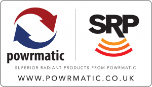 SRP Powrmatic radiant tube heaters
