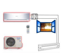Heat pumps hybrid heat Panasonic