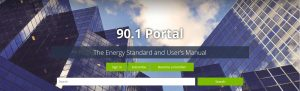 ASHRAE 90.1 energy standard online portal