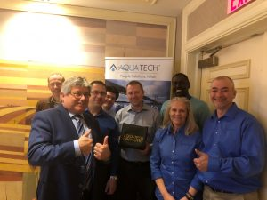 Aqua Tech Lochinvar sales award