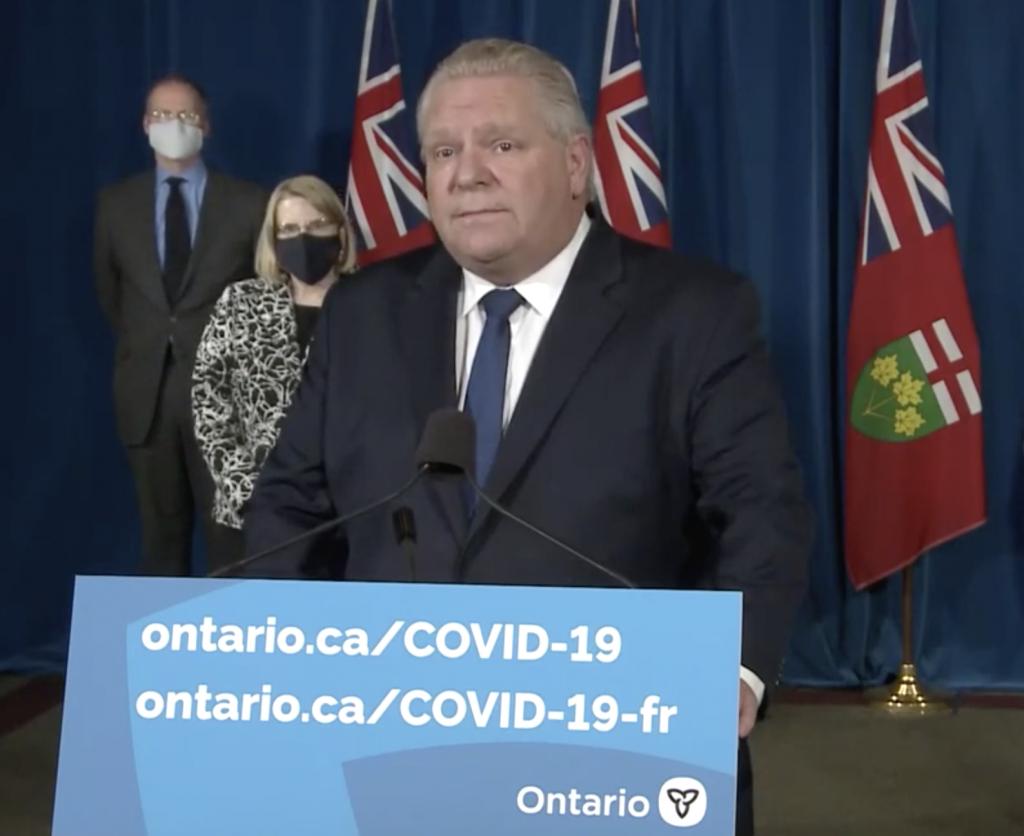 Ontario declares second provincial emergency
