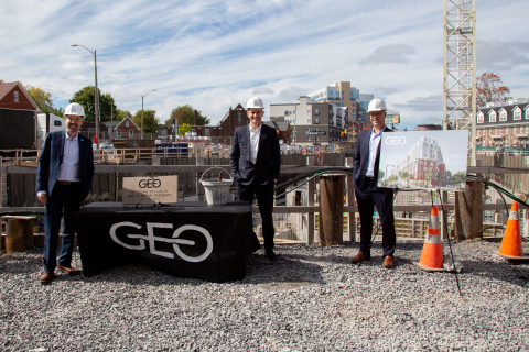 Cornerstone Laid at Kingston's First Geothermal Residential Building – The Geo